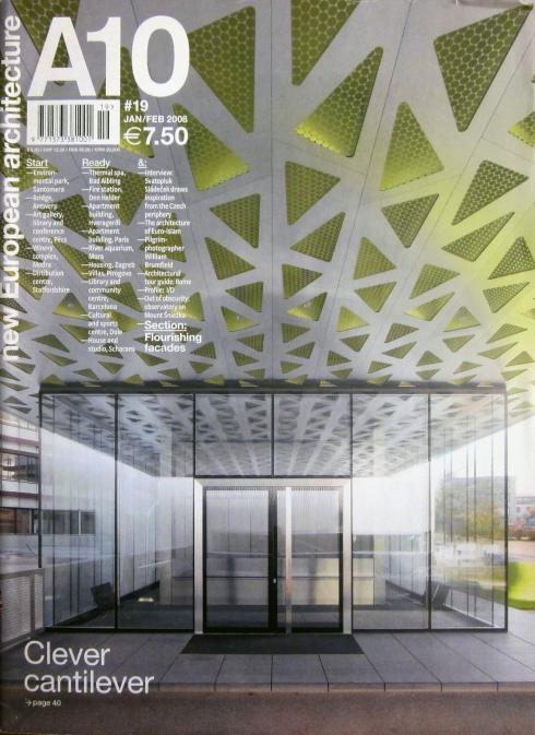 A10, new European architecture, n.19 Jan/feb 2008