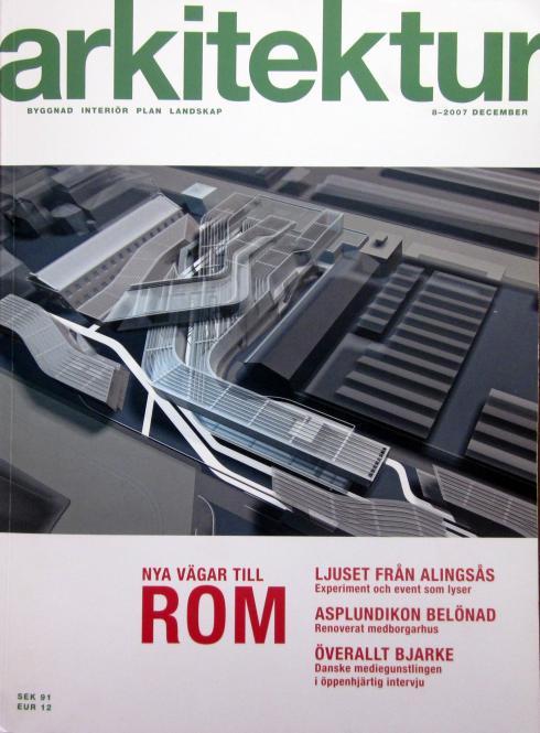 Arkitektur, n.8, december 2007
