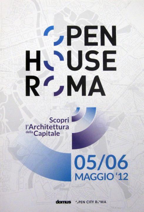 Open House Roma, Domus, maggio 2012