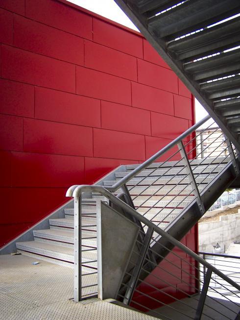 dettaglio delle scale esterne