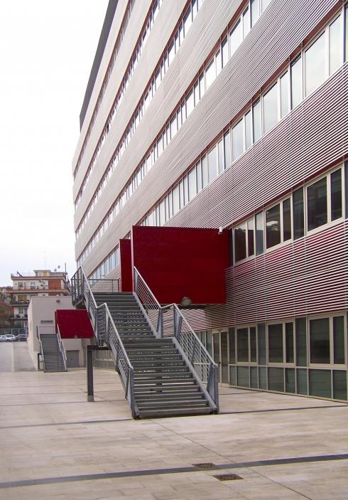 il fronte degli uffici