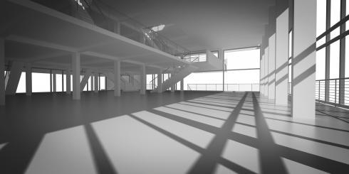 interno del corpo uffici