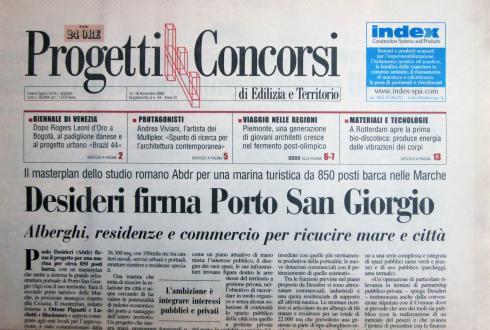 Il sole 24 Ore, Progetti e Concorsi, 13 18 novembre 2006